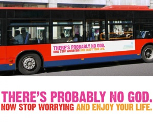 Controversial Bus Ad in London