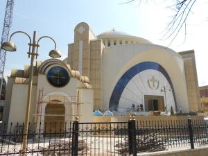Resurrection Cathedral in Tirana, Albania